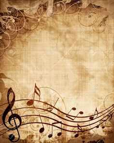 Vintage Music Note Wallpapers Full Hd ~ Monodomo - Best of Wallpapers for Andriod and ios Papel Vintage, Decoupage Vintage, Decoupage Paper, Vintage Paper, Paper Background, Textured Background, Journal Vintage, Sheet Music Art, Music Notes Art