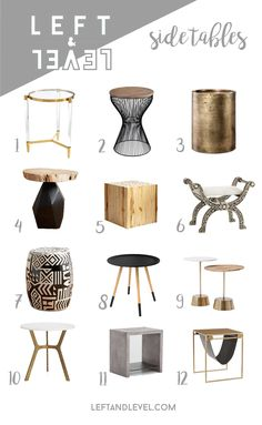 Side Table Guide - L