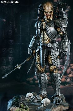 Alien vs. Predator: Celtic Predator - Deluxe Figur, Fertig-Modell ... http://spaceart.de/produkte/avp010.php