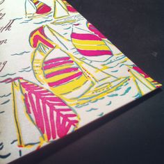 Lilly Stationary.  A staple of any lady's desk.