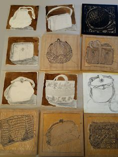 purse drawings collection