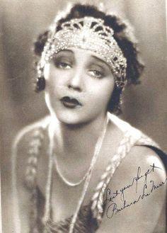 Barbara La Marr, inspiration for my silent film actress, Anna Gilbert.