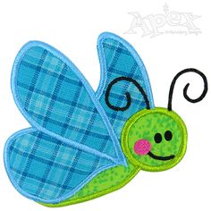 Butterfly Applique Embroidery Designs