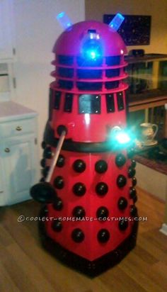 Original Dalek Costume the Evil enemy from Doctor Who)----I'm so making this 4 Halloween