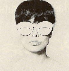 Sondra Peterson - Peter Knapp for Courrèges - Elle 1965