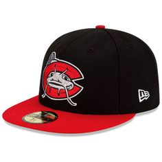 ff7753782a7 Carolina Mudcats Authentic Collection On-Field 59FIFTY Home Cap - MLB.com  Shop New