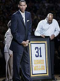 Reggie Miller Basketball Leagues, Basketball Players, National Basketball League, Reggie Miller, Office Team, Basketball Association, Indiana Pacers, Aba, Retirement