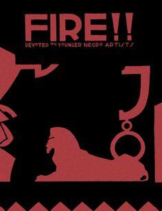 Fire magazine from the Harlem Renaissance.