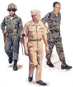 """• ROKMC (Republic of Korea Marine Corps) general officer, 1965 • USMC (United States Marine Corps) general officer, 1969 • VNMC (Vietnamese Marine Corps) general officer, 1970"", Paul Hannon"