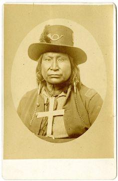 Kiowa man - circa 1872