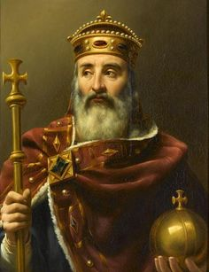 Charlemagne, an Emperor and King who brought most of Western and Central Europe under his reign by a variety of means including military conquest. But he is not famous for just this. He was also a main force in something called the Carolingian Renaissance which changed much of Europe by bringing about a new monetary system, educational reform and a renaissance of the arts including military arts and the art of siege, often considered to be the father of what is now modern Europe.