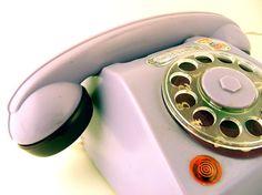 Vintage Toy Telephone Set Mehanotehnika Sweet Plum available at: www.TidBitz.Etsy.com