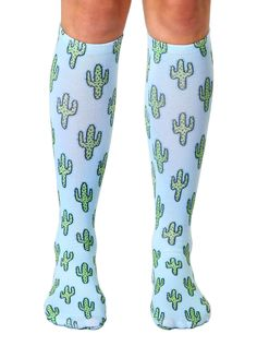 """GET YOUR PRICKLY PAIR OF sOCKS! *UNISEX *100% POLYESTER *MADE IN THE USA *ONE SIZE FITS MOST *WOMEN'S SHOE SIZE 4-12 *MENS SHOE SIZE 6-13 *20"""" L X 4"""" W"""