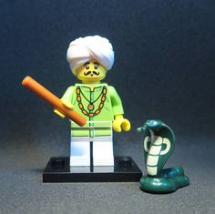 Snake Charmer  Lego Minifigure  #lego #legostagram #legophotography #legominifigures #legomania #legogram #legominifigure #legography #legophoto #legolife #legofan  #lego365 #legominifigs #legobricks #legoman #legolove #legominifig #legolover #minifigures #instalego #minifig #minifigure #minifigs #toyphotography #toystagram #series13 #snakecharmer #snake #snakes #charmer by lego_minifigures_and_co