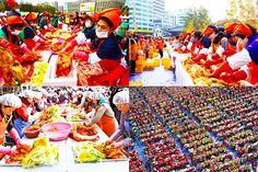 #เที่ยวเกาหลี Seoul Kimchi Making & Sharing Festival  เทศกาล Seoul Kimchi Making & Sharing Festival สถานที่จัดงาน : Seoul Plaza / Gwanghwamun Square / Cheonggye Plaza