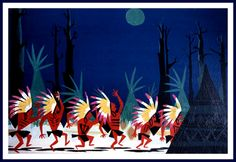 Mary Blair's sublimely whimsical art is immediately recognisable; here she lends her talents to concept paintings for the 1953 Walt Disney animated version of J.M. Barrie's classic childrens fairy tale….