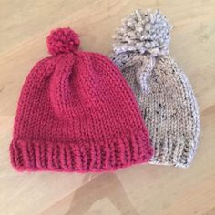 Oprah Hat on her list of Favorite Things sells for $ 60. Free pattern here.. use Super Bulky yarn, like  Wool-Ease® Thick & Quick® and a size US 13 (9 mm) 16-inch circular needle...