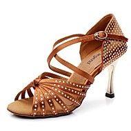 Sapatos+de+Dança+(Preto+/+Castanho)+-+Mulheres+-+Não+Personalizável+-+Latim+–+EUR+€+117.60