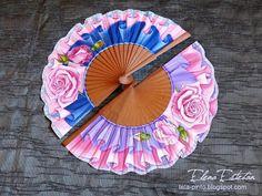 @todo color: Cerrando el círculo Clock, Pretty, Fans, Sharpies, Decor, Party, Painted Fan, Umbrellas, Hand Fans