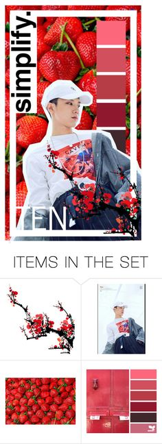 ♥ NCT Wallpapers #TEN ♥ by hongbinie on Polyvore featuring arte and ten
