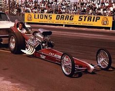 Don Prudhomme at Lions Drag Strip Funny Car Drag Racing, Nhra Drag Racing, Funny Cars, Don Prudhomme, Top Fuel Dragster, Classic Race Cars, Drag Bike, And So It Begins, Old Race Cars