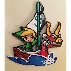 Legend of Zelda perler beads by 8bitcustoms