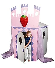 Strawberry castle
