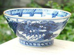 【京焼清水焼】平八龍ご飯茶碗