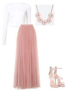 """""""Full of Tulle"""" by rlicht on Polyvore featuring Proenza Schouler, Little Mistress, J.Crew and Giuseppe Zanotti"""