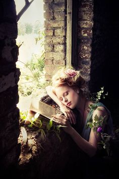 Spring Time Fantasy Photography at: http://www.pinterest.com/oddsouldesigns/springtime-soul/ #fairytale #portrait