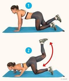 Упражнения, которые помогут справиться с целлюлитом за 2 недели / Все для женщины
