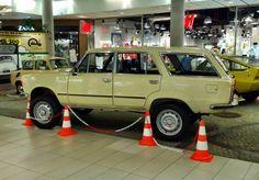 1977 Fiat 125p Kombi 4x4 prototype
