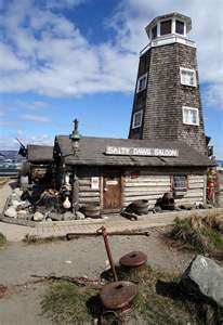Salty Dawg Saloon on the Homer Spit, Homer Alaska