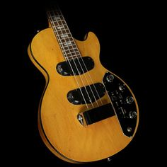 Used Steve Miller Collection Gibson 1973 Les Paul Triumph Electric Bass Walnut