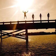 Jump off a bridge!