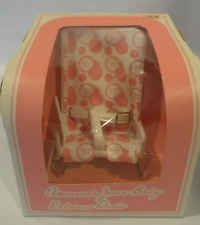 "NEW RARE VTG 1980s? Amanda Jane Baby 7"" Doll Relaxer Chair Baby England MIB"