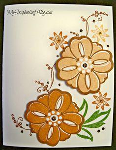 Flower card by Wendy Kessler