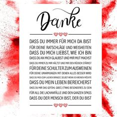 Thank you art print-Danke Kunstdruck Thank you art print – Order art prints now in the shop Close Up GmbH - Love Quotes, Inspirational Quotes, Boyfriend Texts, Sister Love, Jar Gifts, Baby Scrapbook, Great Christmas Gifts, Breakup, Close Up
