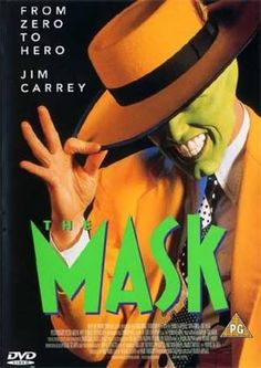 The Mask (starring Jim Carrey) 90s Childhood, My Childhood Memories, Movie Theater, I Movie, Cinema, Jim Carrey, 90s Nostalgia, Netflix, Cameron Diaz