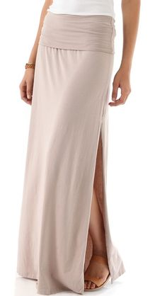 Maxi Skirt / Dress with Slit