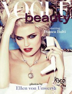 Vogue Italia February 2013  Model: Bianca Balti  Photographer: Ellen von Unwerth