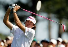 """I never got this far in my dreams"" -Bubba Watson"