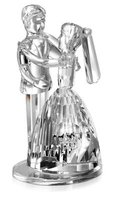 Godinger 49581 Crystal Wedding Cake Topper -- More info could be found at the image url.