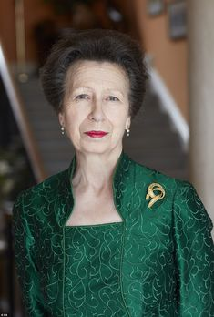 Happy birthday Princess Royal! Elegant Anne stuns in three new portraits to mark turning 70 | Daily Mail Online