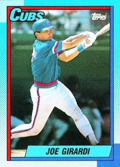 1990 Topps 12 Joe Girardi - Chicago Cubs (Baseball Cards) * Check this awesome product by going to the link at the image.