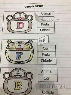 Jogo Stop EM PDF   Atividades Pedagogica Suzano
