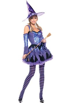 Gypsy Witch Adult Costume - Pure Costumes