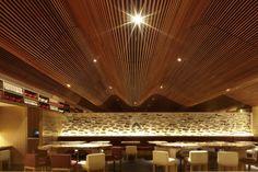 Koichi Takada Architects have designed the Ippudo Restaurant in Sydney, Australia.