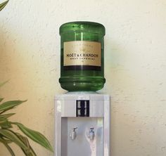 Moet & Chandon champagne water cooler from Calder Clark Designs - @Alexis Jarvis we need this for our office!!