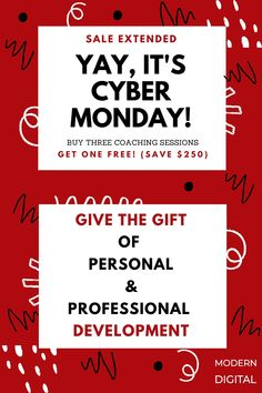 Personal And Professional Development, Self Development, Cyber Monday, Get One, Digital Marketing, Coaching, Events, 15 Years, Black Friday